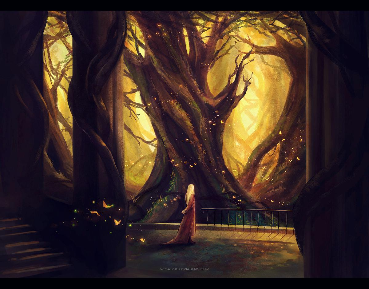Miraculous Scenery Illustrations By Niken Anindita -illustrations, digital art