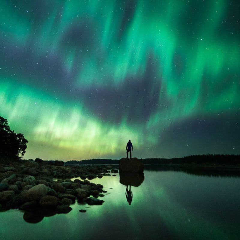 This Photos Prove Finland Has The Most Mysterious Night Skies -photo-series, finland