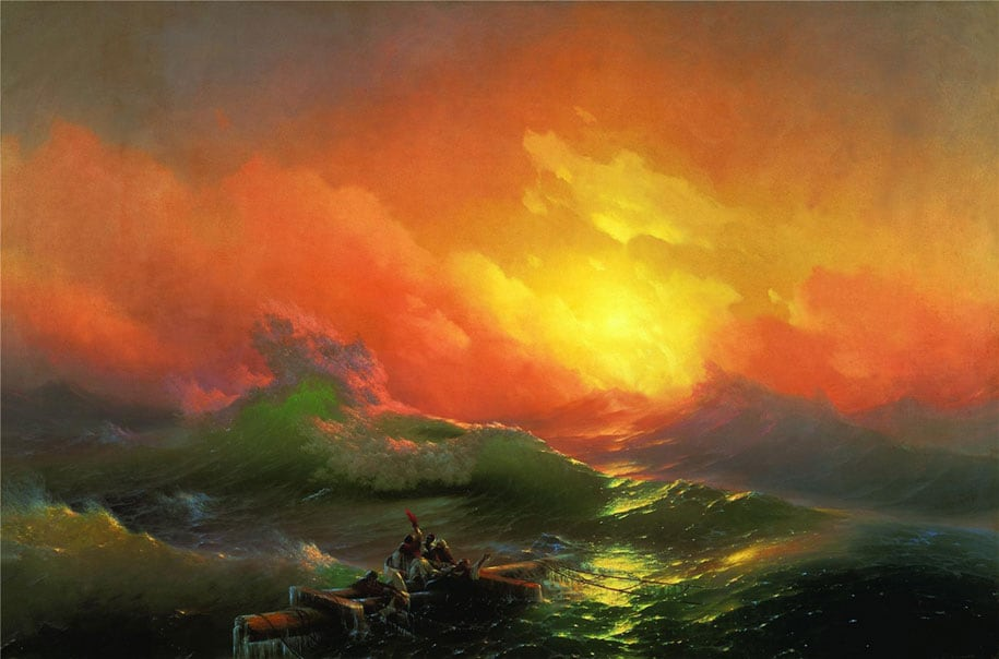translucent-waves-19th-century-painting-ivan-konstantinovich-aivazovsky-22