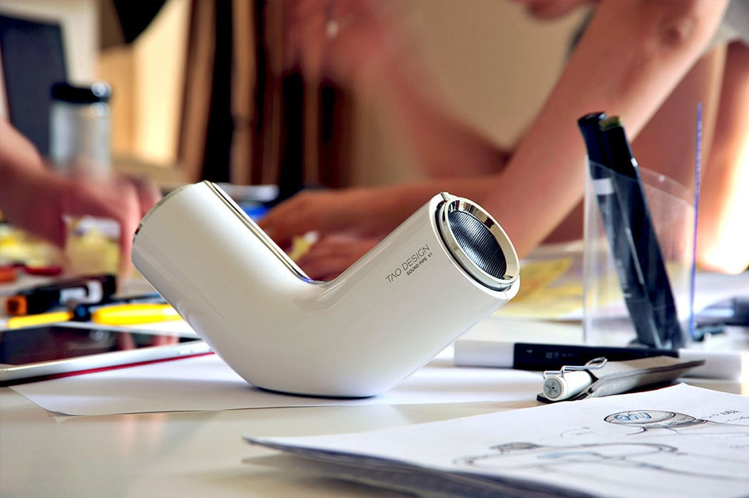 'Sound Pipe' Beautiful Speakers by Tao Design -gadgets