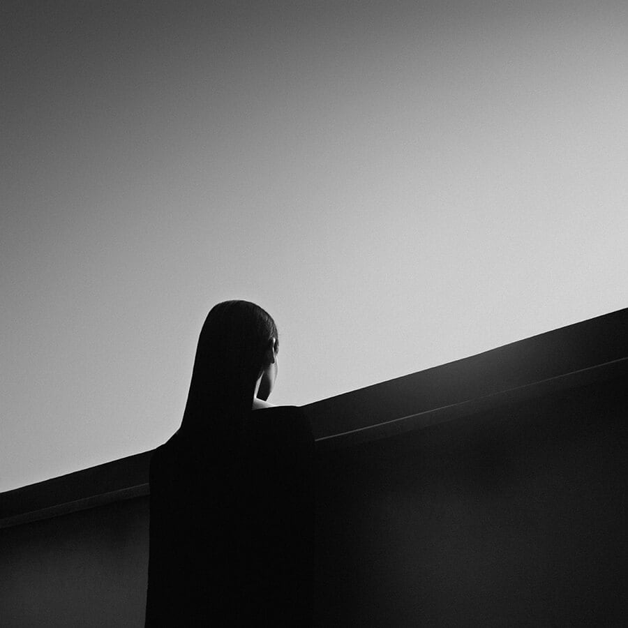 15a - Surreal Black and White Self-Portraits by Noell Oszvald