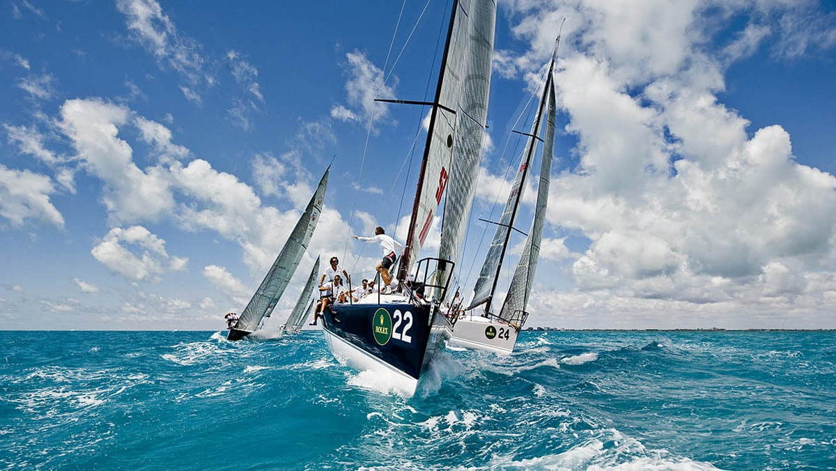 Gozo weekend regatta by Global Capital