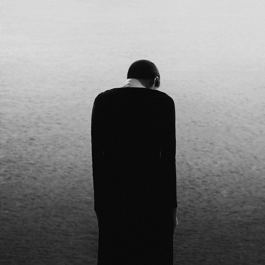 20c - Surreal Black and White Self-Portraits by Noell Oszvald