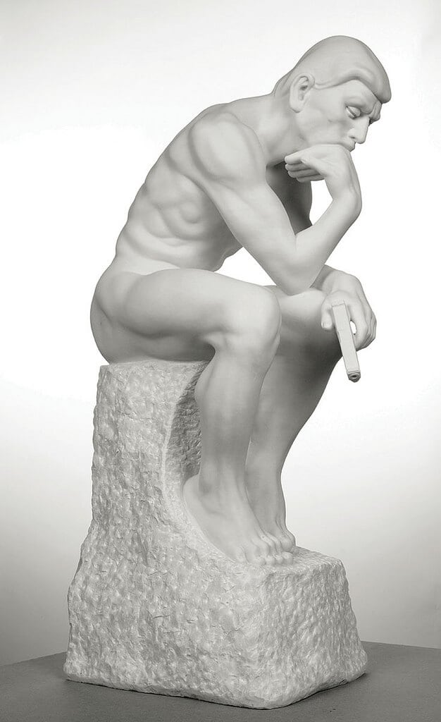 "21278488479 eb69900407 b - Mauro Perucchetti Creates ""Modern Heroes"" after Famous Sculptures"