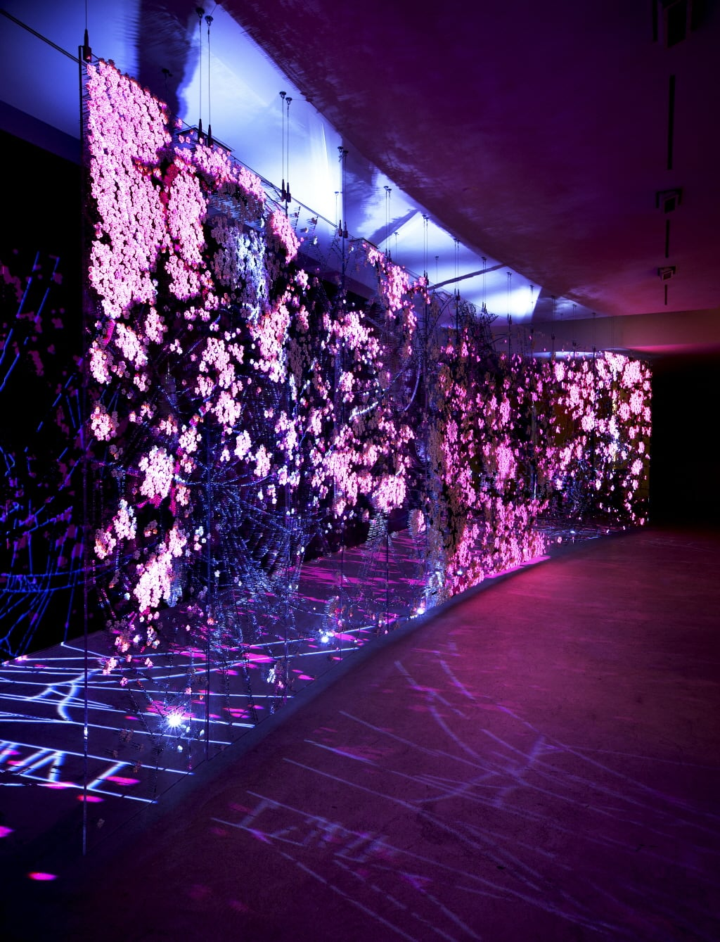 Artist Ran Hwang Uses Buttons to Create Large-Scale Installations -installation