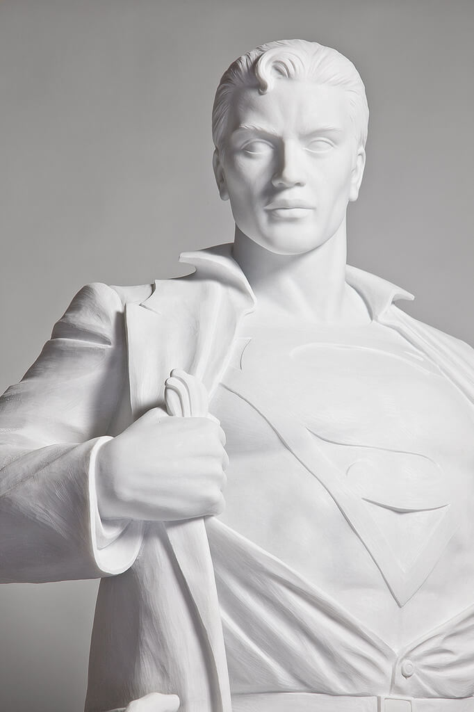 "21439173236 ef0033dfcb b - Mauro Perucchetti Creates ""Modern Heroes"" after Famous Sculptures"