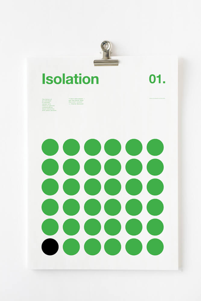 3040978 slide s 2 graphic posters visualize 1 - Abstract Poster Series Depicts the Serious Symptoms of Depression