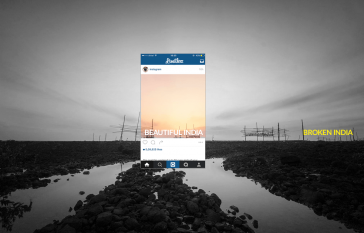 These Instagram Travel Photos Display How Cropping Changes The Whole Picture -pollution, Instagram, India, black and white