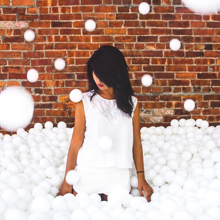 New York Art Installation Allows Adults to Release Their Inner Child and Dive Into a Giant Ball Pit -NYC, installation, fun