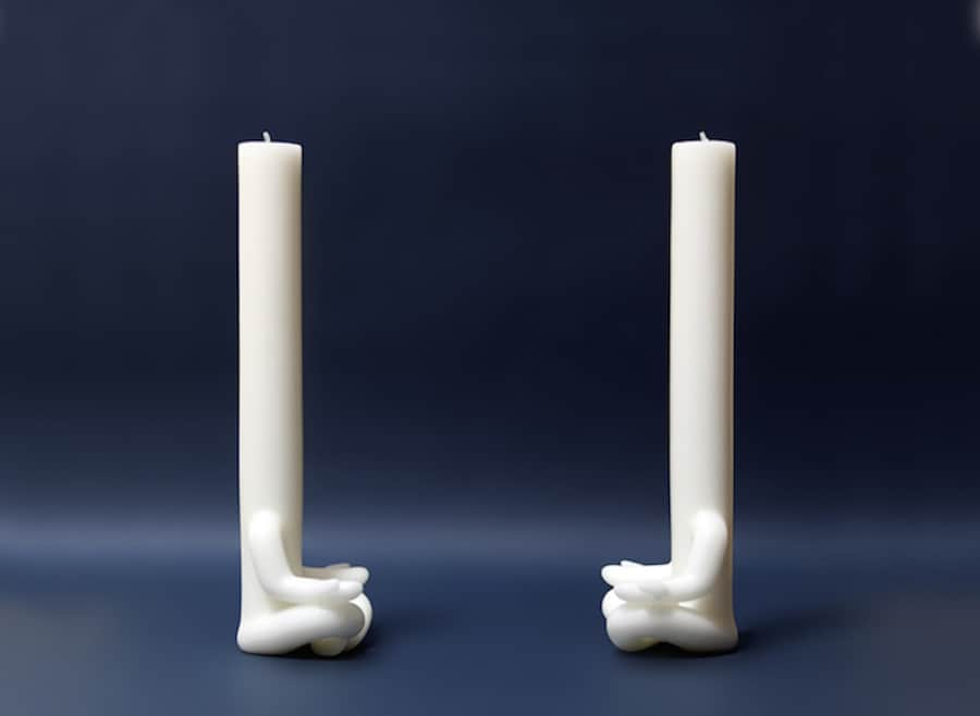 Candleman: Mediative Shape by Studio AND -design, crafts, candle