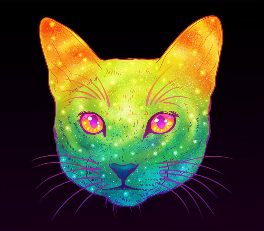 colorful-space-felines-galactic-cats-jen-bartel-7
