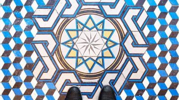 This Instagram Documents the Beauty of Colorful Floor Tiles in Paris -photo, paris, Instagram