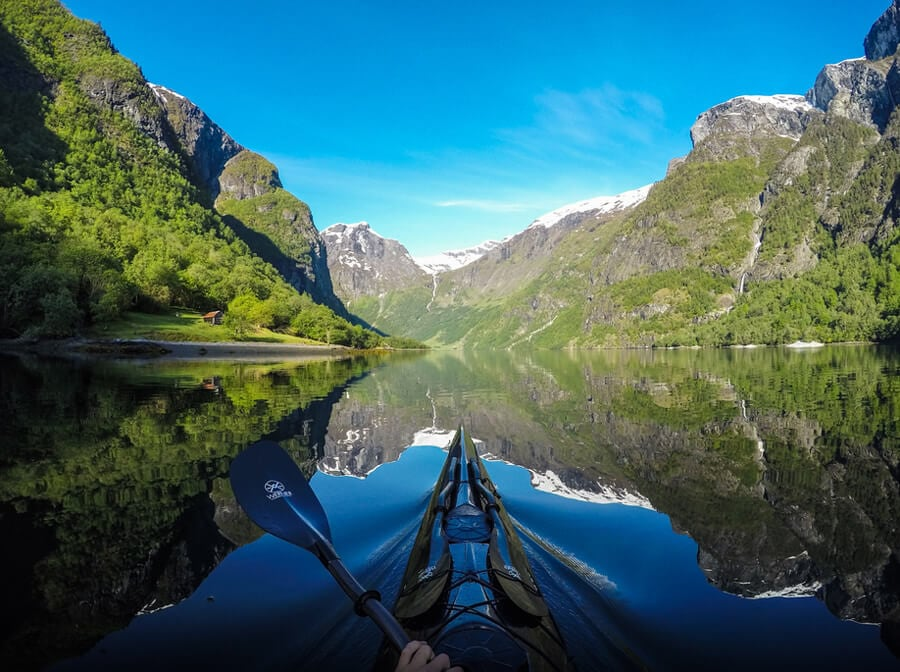 Beautiful Norway's Fjord Instagram Snaps from the Perspective of a Kayaker -river, poland, norway, mountains, landscapes