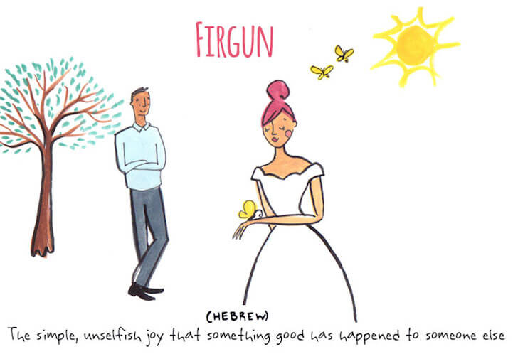Artist Draws Untranslatable Love Words from Around the World -LOVE, illustration, culture