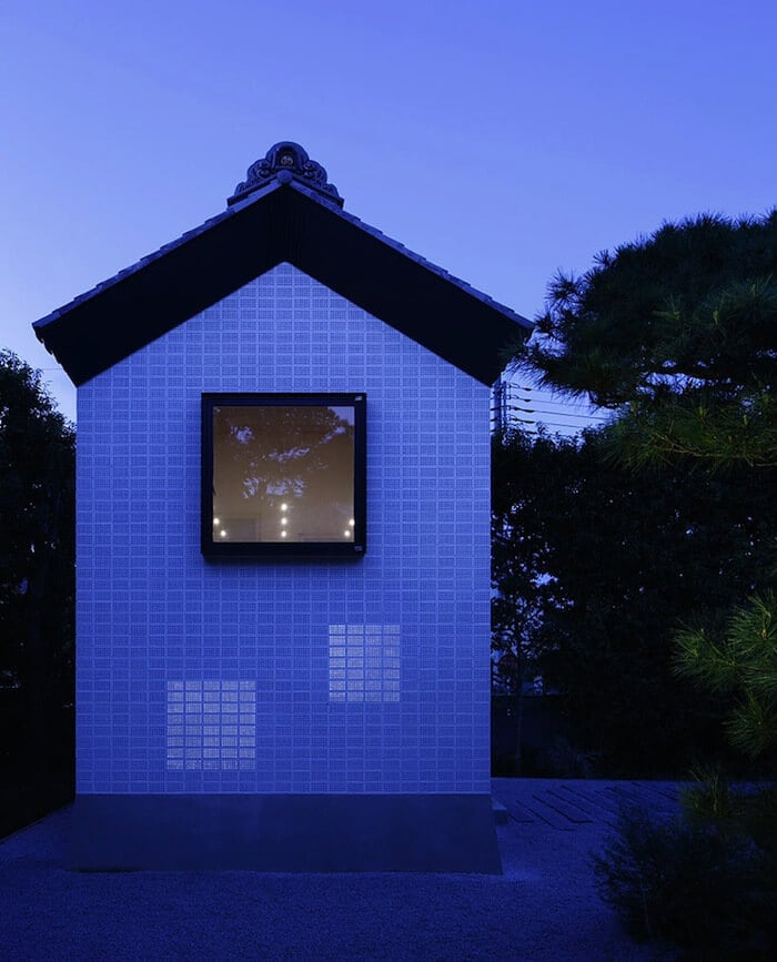 Rebirth House with Perforated Brick Walls By Ryo Matsui Architects -japan, house