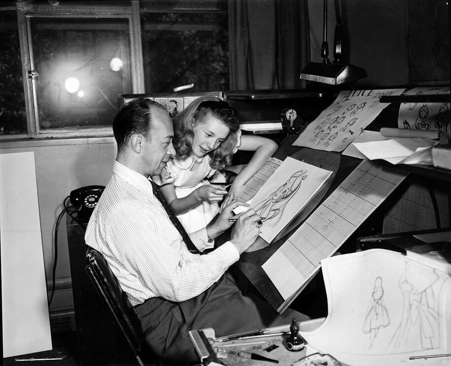 alice-in-wonderland-behind-the-scenes-animators-kathryn-beaumont-333