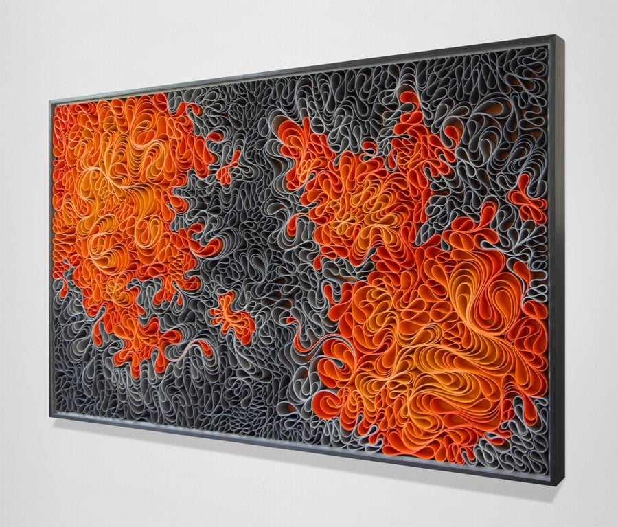 Brilliantly Hued Canvas Sculptures by Artist Duo 'Stallman' -sculpture, canvas
