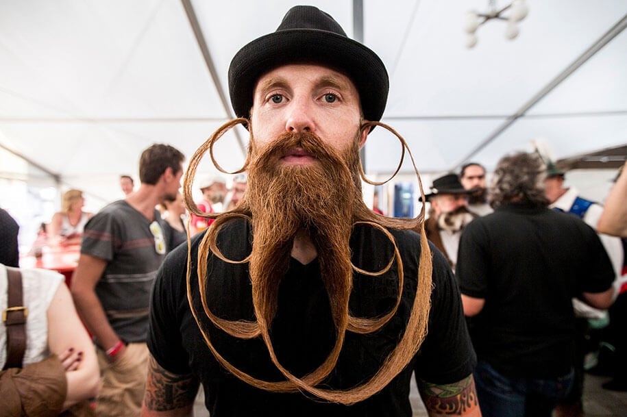 world beard moustache championship austria 5 - World's Best Beards And Moustaches From 2015 Championship