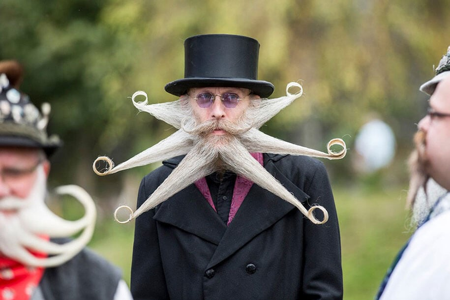 world beard moustache championship austria 6 - World's Best Beards And Moustaches From 2015 Championship