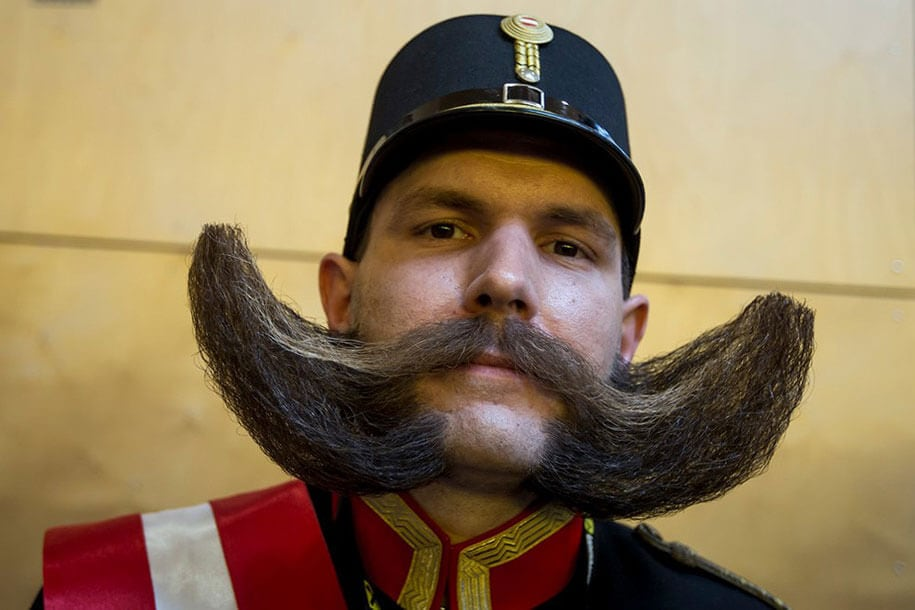 world beard moustache championship austria 8 - World's Best Beards And Moustaches From 2015 Championship