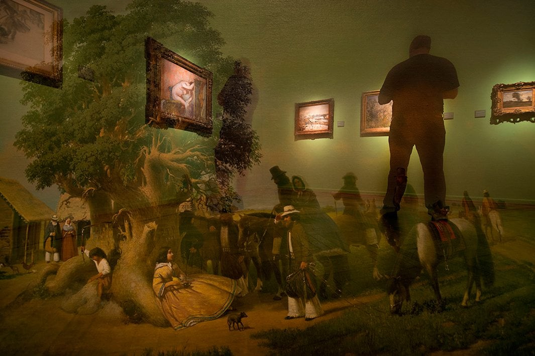 The Museum's Ghosts Project by Andres Wertheim