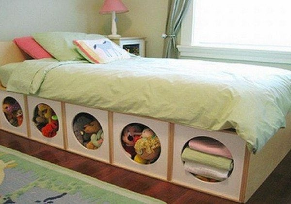 11 Inspiring Ideas To Merge Your Bed and Storage -Ikea, furniture