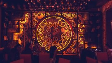 The First Steampunk-Themed Cafe in Romania -Video, steampunk, gif