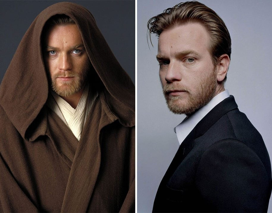 Star Wars Actors Then And Now -Star Wars, movies, before and after