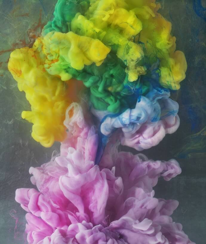 Kim Keever Drops Paint Into Water And Captures The Striking Results -