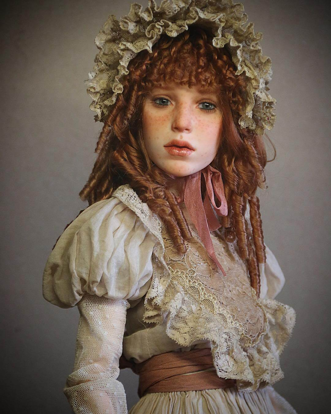 hyper realistic dolls michael zajkov fy 15 - Michael Zajkov Makes Amazingly Realistic Doll Faces That Will Make Your Skin Shiver