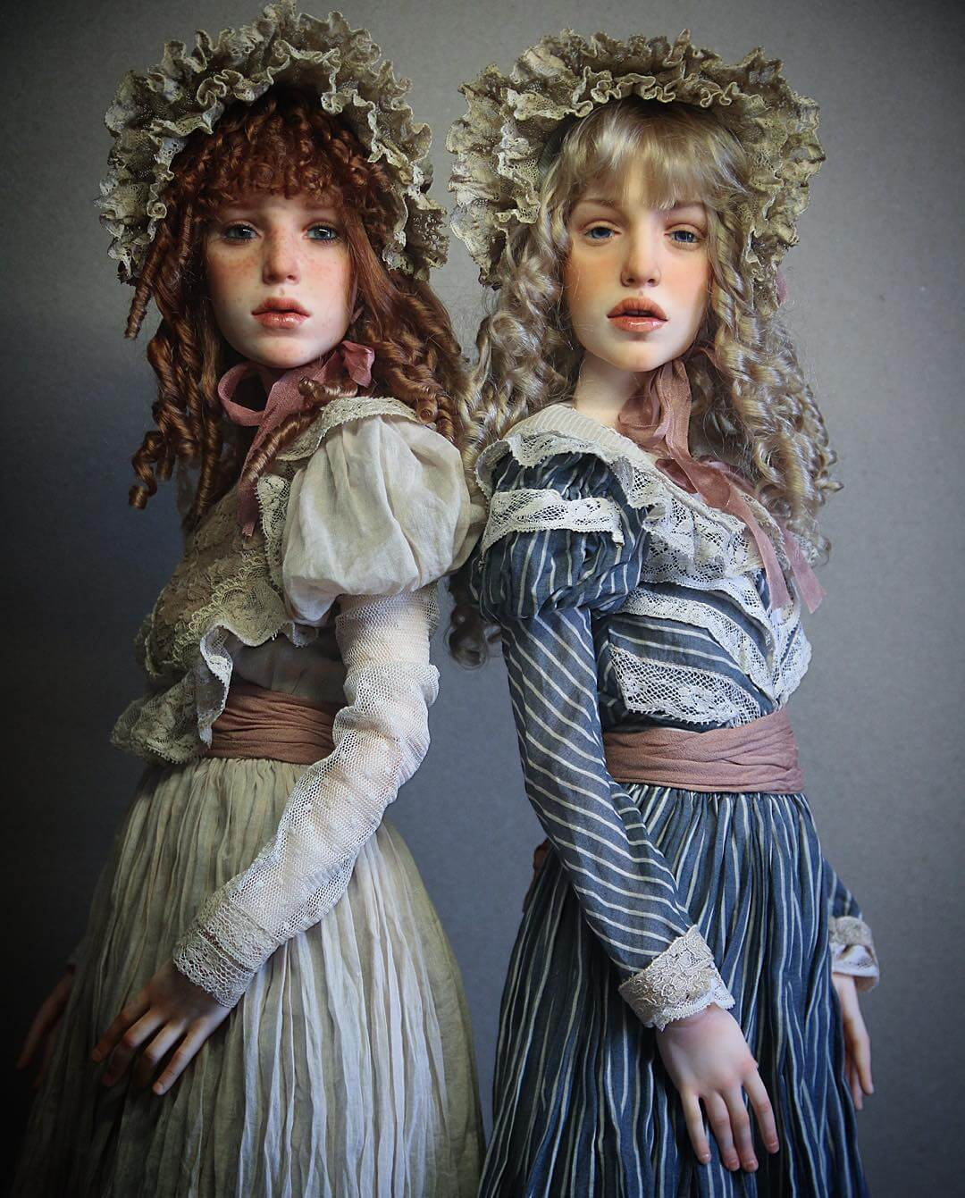 hyper realistic dolls michael zajkov fy 16 - Michael Zajkov Makes Amazingly Realistic Doll Faces That Will Make Your Skin Shiver