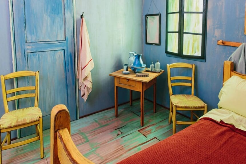 Airbnb Guests Can Spend the Night in Van Gogh's Bedroom -