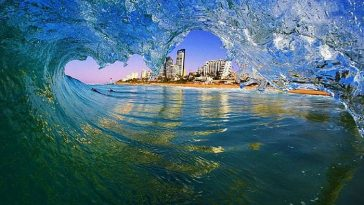 Photographer Takes Breathtaking Photos From Inside Breaking Waves -waves, surfing, sea, ocean, beach