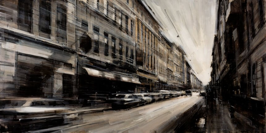 0f82566bdc6952e64bf770df0e46d81062caa135 860 - Blurred Cityscapes that Depicts The Pulse of a Metropolis
