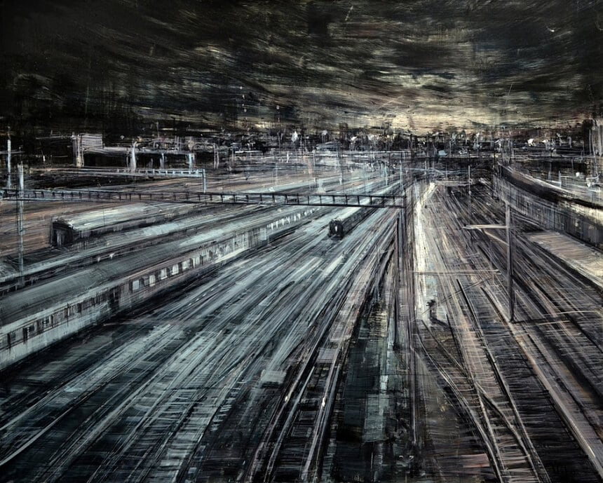 3dd84ae491fa86c38f0ebe2604019aea322da405 860 - Blurred Cityscapes that Depicts The Pulse of a Metropolis