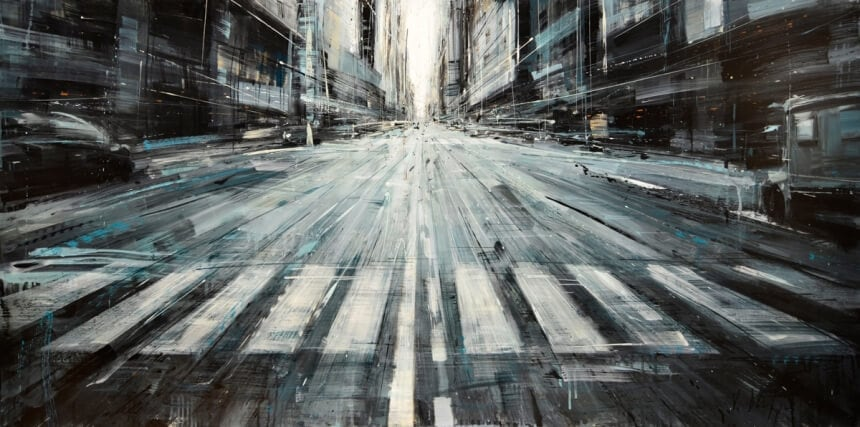 75375f54dbe8080c9ed980957ca69c2ae3cd2f0e 860 - Blurred Cityscapes that Depicts The Pulse of a Metropolis