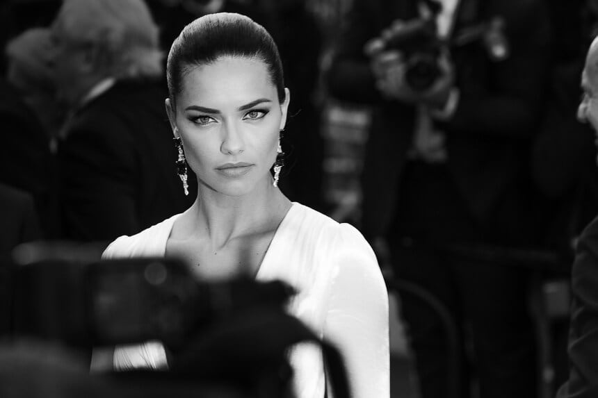 Capturing a Relaxed side of The Cannes Film Festival -black and white