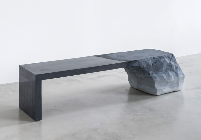 Sand Drift Furniture Series by Fernando Mastrangelo -stone, sculptures, furniture