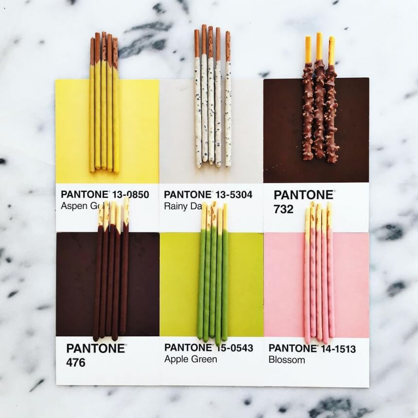Lucia Litman Matches Food with Pantone Shades -Pantone, food