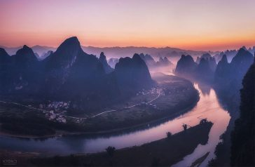Mountains Converge in Breathtaking Landscapes of China -mountains, landscapes, china