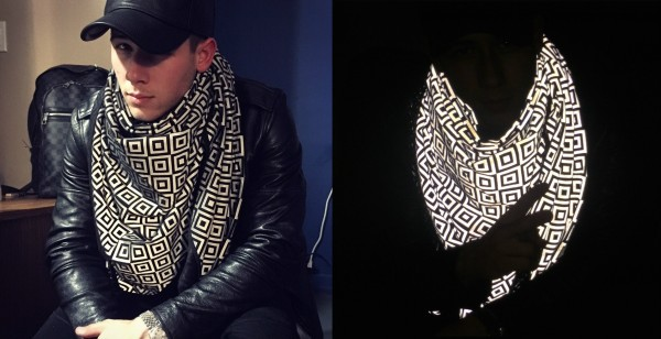 This Scarf Gives You an Invisibility Cloak Against Unwanted Paparazzi Attention -