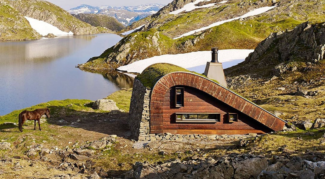 Cozy The Hunting Lodge by Snohetta -norway, mountains, landscapes