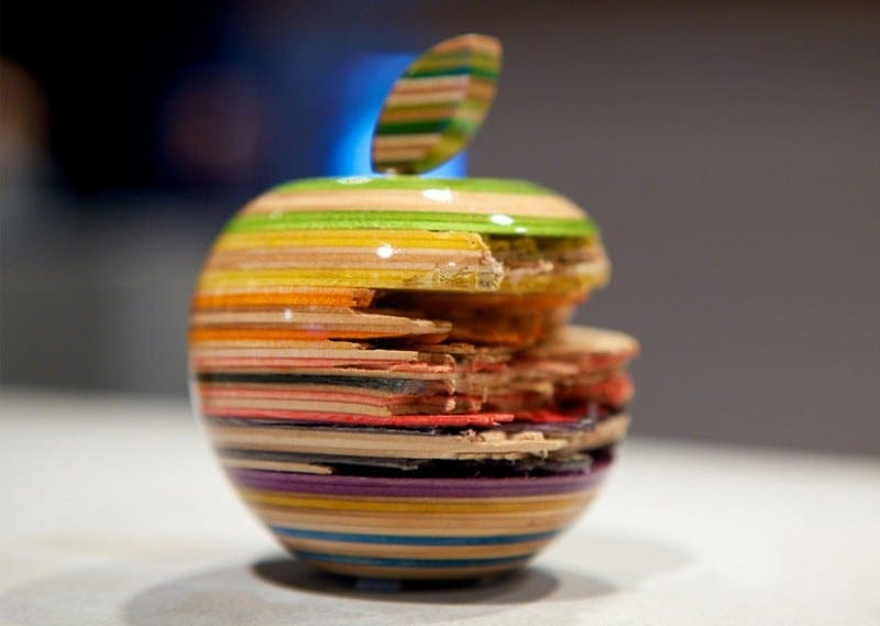 Creative Art Sculptures from Old Skateboards by Haroshi -wood, sculptures