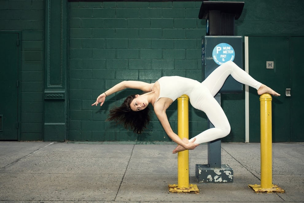 The Urban Yoga: Slovenian Architect Dynamically Changes the Beauty of City Streets -yoga, urban, photo-project