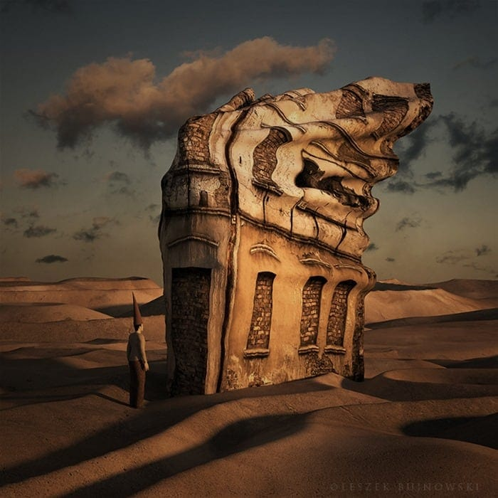 Surreal buildings by Leszek Bujnowski -surrealistic, surrealism, surreal, polish, poland, photographer, graphic designer, artist