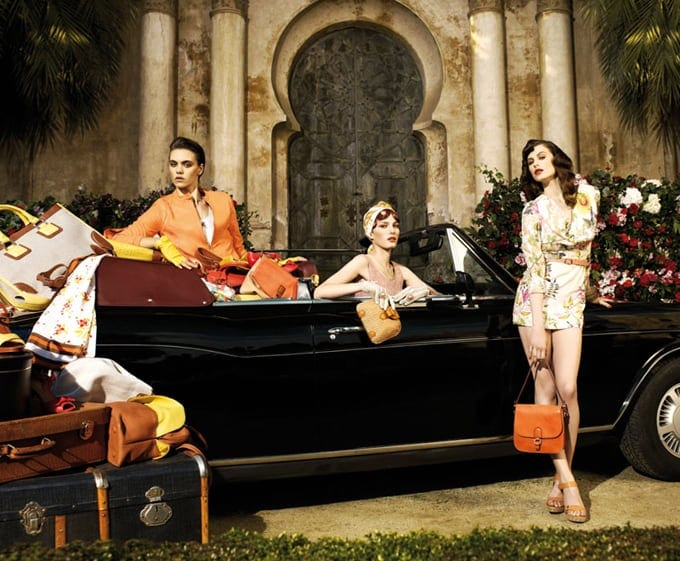 Uterque spring advertising campaign 2012 -photo session, advertisement