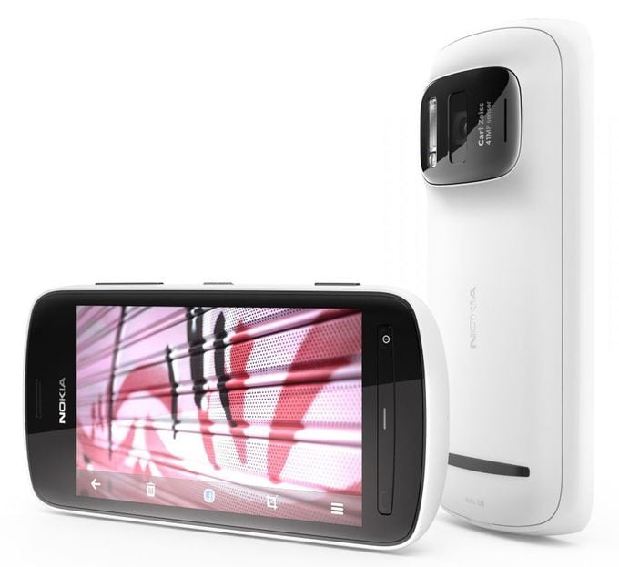 Nokia 808 PureView – Smartphone with 41 Megapixel Camera -smartphone