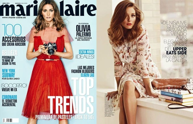 Olivia Palermo in Marie Claire Spain -photo session