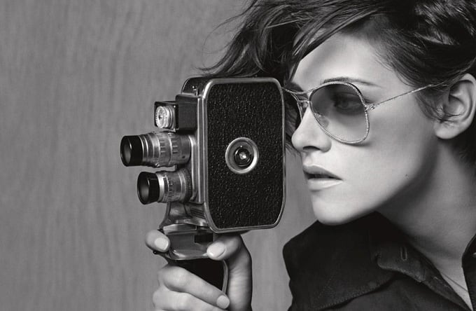 Kristen Stewart's First Chanel Eyewear Campaign -portraits, photo-shoots, fashion-photographer, Actress