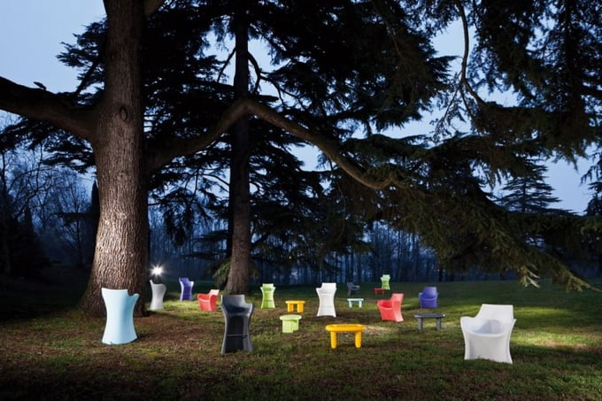 WOOPY by Karim Rashid -chairs, armchair